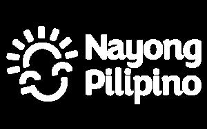 NAYONG PILIPINO WHITE LOGO